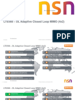 DL Adaptive Closed Loop MIMO