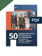 50 - MEJORES PRACTICAS DE CONTROL DE LA TRANSMISION DE COVID