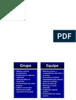 Grupo - Equipe - ou  time