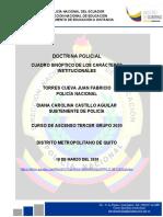 CARACTERES INSTITUCIONALES- POLI JUAN TORRES