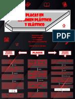 placas en regimen plastico y elastico