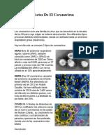 Causas y Efectos De El Coronavirus trabajo