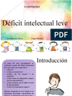 DEFICIT INTELECTUAL LEVE