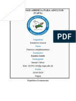 Practica Complementaria de Estadística General. (FGM-210)