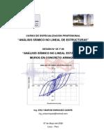ANÁLISIS SÍSMICO NO LINEAL ESTÁTICO - SESIÓN 05 Y 07 (PARTE 1)