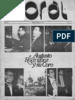 Revista Coral vol.2, num.1, enero-febrero 1979