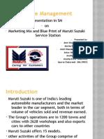 Service Marketing Ppt