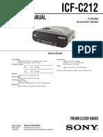 Radio Despertador Service Manual Sony ICF-C212 ver.1.0.pdf