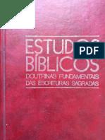 Estudos Bíblicos Doutrinas Fundamentais das Escrituras Sagradas 1984