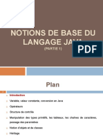 Notions de Base en Java (Partie 1)