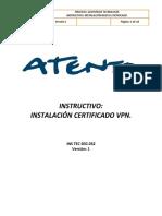 Manua Instalacion de certificado de VPN Palo alto