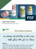 Praktikum pengenalan obat infeksi