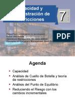 ADMINISTRACION DE LA CAPACIDAD Y RESTRICCIONES.ppt