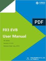 F03 EVB User Manual V1.0.0