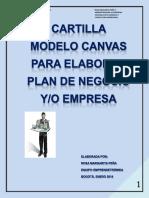 Cartilla Plan de Negocio  CANVAS.pdf