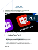 Concepto de power point