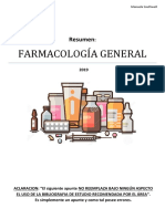 Farmacologia general resumen UNICEN