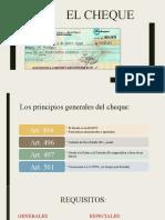 Tiìtulo de Creìdito - El cheque  (1)