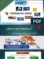 DIAPOSITIVA SUSTANCIAS PURAS