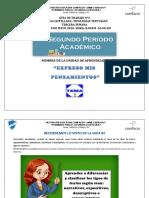 GUÍA DE TRABAJO N° 3 - ACTIVIDAD TIPOS DE TEXTOS 6° español