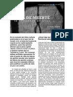 PENA de MUERTE. La Venganza de Dios (Armando H. Toledo, 2020)
