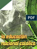 la educación nacional católica en la posguerraE.Miret Magdalena