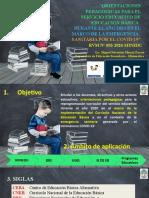 ORIENTACIONES PEDAGÓGICAS - RVM 093-2020