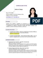 CV Anahi Calderon