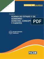 Forma de Estado y de Gobierno - Derecho, concepto y fuentes (1)