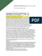 Historia de la economia peruana