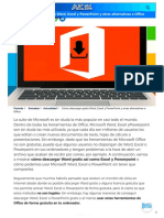 Cómo descargar gratis Word, Excel y PowerPoint y otras alternativas a Office.pdf