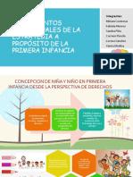 FundamentoS conceptuales Primera Infancia