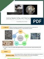 Diapositivas de descripción petrográfica y contenido de humedad 2