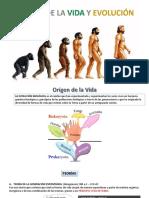 1.ORIGEN Y  EVOLUCIÓN- BIOLOGIA