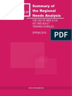 100714 Wales Regional Needs Analysis Report