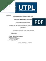 INFORME LA TECTÓNICA DE PLACAS Y LA INVESTIGACIÓN CIENTÍFICA.