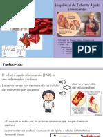 EXPOSICIÓN INFARTO AL MIOCARDIO BIOQUÍMICA.pptx