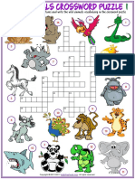 animals vocabulary esl crossword puzzle worksheets for kids.pdf