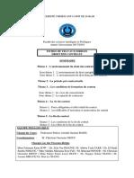 TD Droit des Contrats 2017&2018