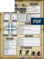 Blank H+I Sheet