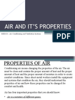 Air properties