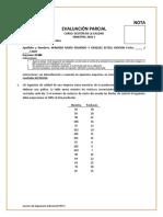 Evaluación Parcial B