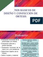 PRINCIPOS BASICOS DE CONFECCION DE UNA ORTESIS final Complementaria