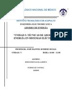 Administracion de sistemas electricos ahorro de energía