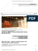 COVID-19_ IMPACT ON AUTHORS AND THE EU BOOK SECTOR – EWC _ European Writers Council
