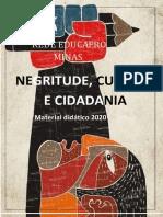CADERNO DE NEGRITUDE CULTURA E CIDADANIA 2020