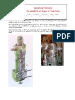 The MAN B&W MC Engine VIT Fuel Pump