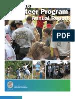 2009-2010 FWC Volunteer Program Annual Report