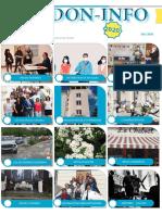 Lettre d'information du Pdf du mois de mai de l'association Verdon -info