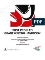 First Peoples Grant Writing Handbook PDF